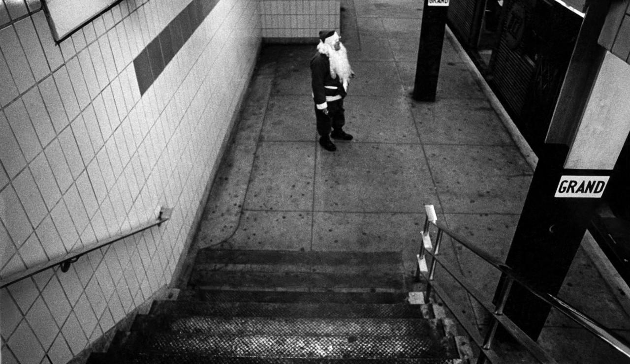 Behind the Image: Bruce Gilden's Subway Santa