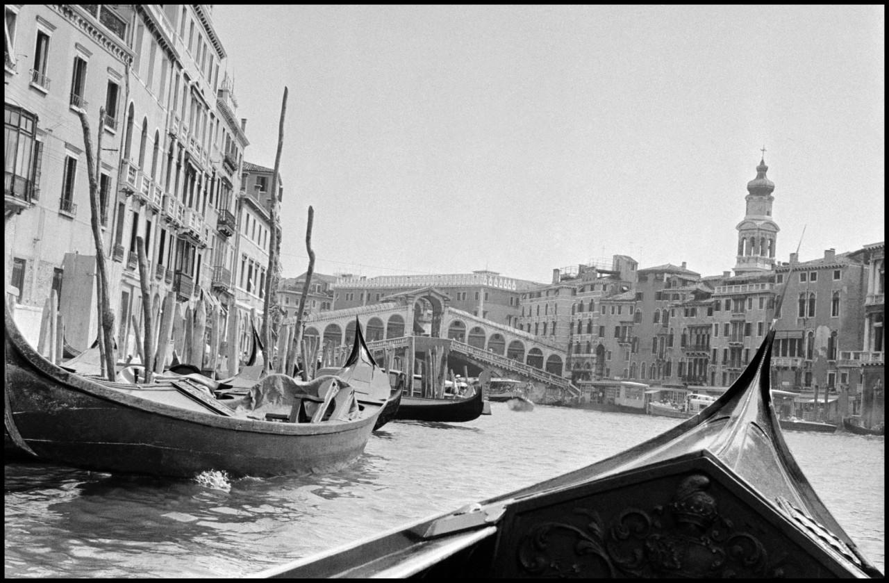 Inge Morath's Venice